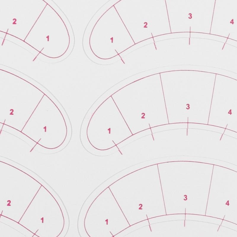 Lash Map - Samoprzylepne płatki pod oczy - 14szt