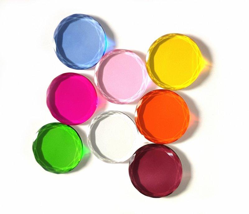 Kryształowa podstawka pod klej (różne kolory) by Looksus Lashes