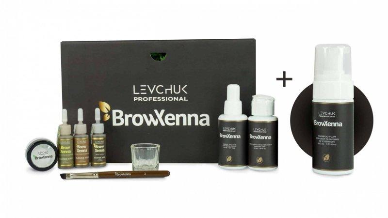BrowXenna Brow Box Blond [Zestaw 10 elementów]