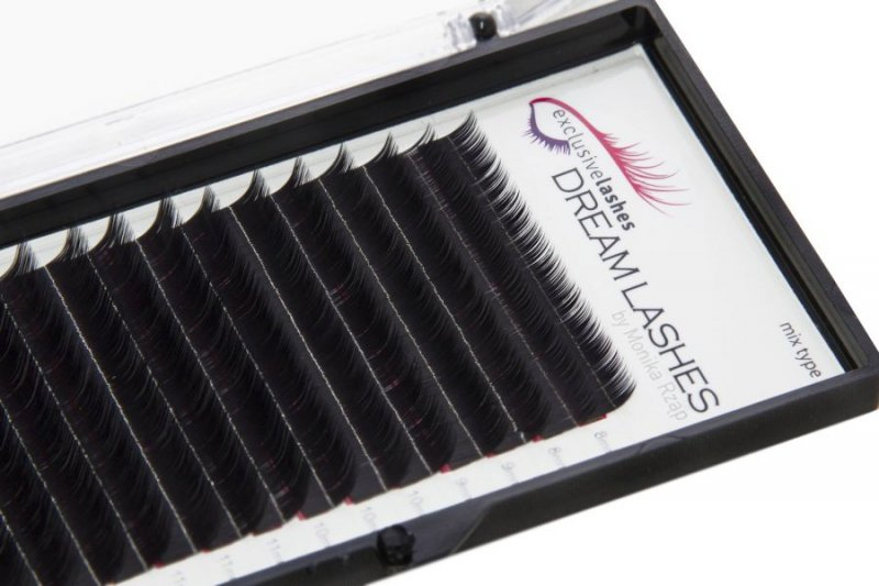 Rzęsy Silk Dream Lashes skręt M by Exclusive Lashes