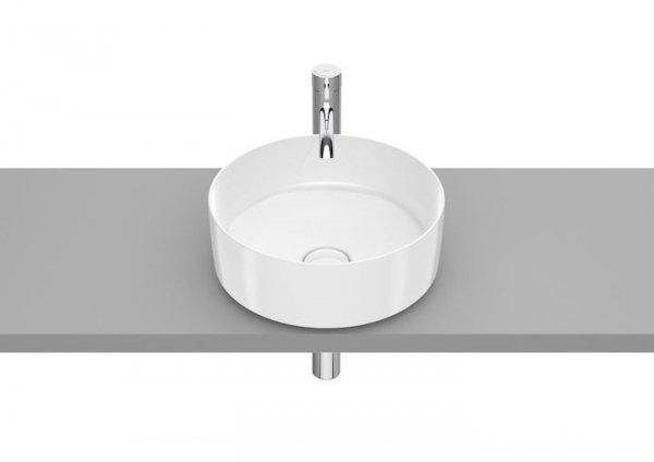 Inspira Umywalka nablatowa cienkościenna Round       Wymiary:      Szerokość: 370 mm.      Głębokość: 370 mm.      Wysokość: 140 mm.
