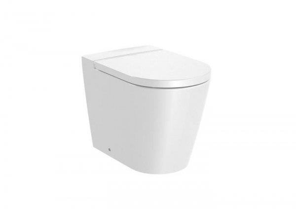 Inspira     Miska WC stojąca Round Rimless       Wymiary:      Szerokość: 370 mm.      Głębokość: 560 mm.      Wysokość: 440 mm.