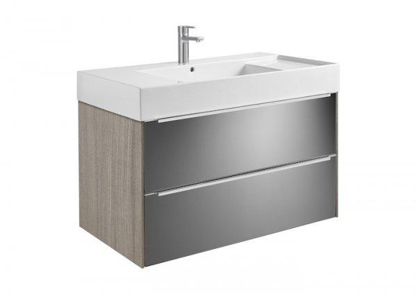 Inspira     Zestaw łazienkowy Unik z 2 szufladami      Wymiary:      Szerokość: 1000 mm.      Głębokość: 498 mm.      Wysokość: 674 mm.
