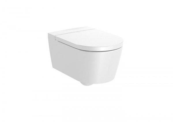 Inspira     Miska WC podwieszana Rimless Round       Wymiary:      Szerokość: 370 mm.      Głębokość: 560 mm.      Wysokość: 440 mm.