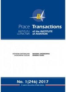 Prace Instytutu Lotnictwa 246 (1/2017)