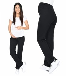 Wygodne spodnie dresowe 3010 czarny