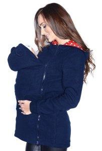 MijaCulture - polar do noszenia dziecka 3073A ciemny granat