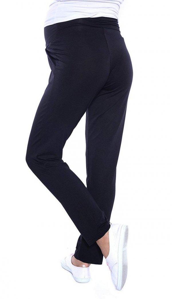 MijaCulture - spodnie viskozowe 4092/ M53 czarny 5