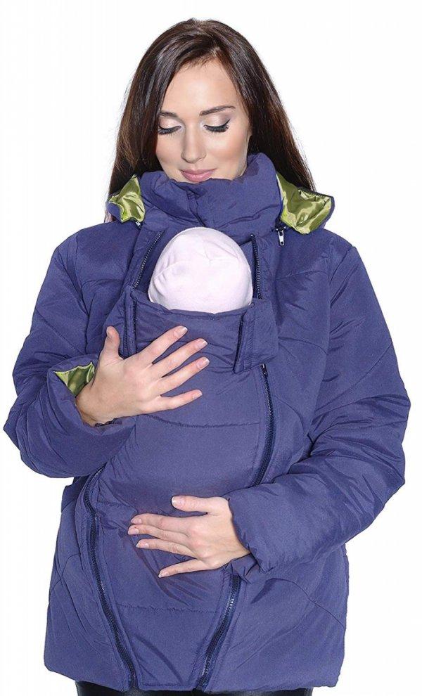 kurtka zimowa 3 w1 (dodatkowe 2 panele) 1108 niebieski 5