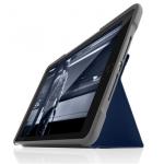 STM Dux - obudowa ochronna z klapką do iPad 9.7 2017/2018 (niebieska)