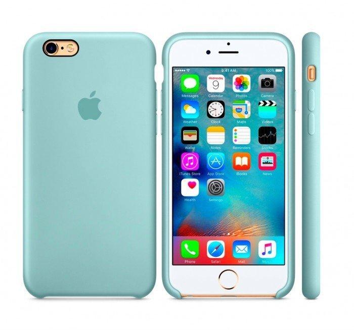 Zupełnie nowe Etui silikonowe do Apple iPhone 6 6s (morski) - Etui pokrowce NB01