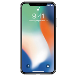 Apple iPhone X 256GB Super Retina HD Silver - pcozone