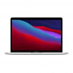 MacBook Pro 13 z Procesorem Apple M1 - 8-core CPU + 8-core GPU / 8GB RAM / 256GB SSD / 2 x Thunderbolt / Silver (srebrny) 2020 - pcozone