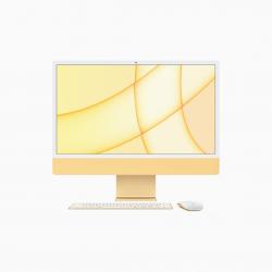 Apple iMac 24 4,5K Retina M1 8-core CPU + 8-core GPU / 16GB / 256GB SSD / Gigabit Ethernet / Żółty (Yellow) 2021 - pczone