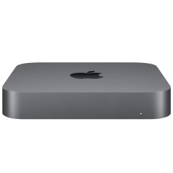 Mac mini i3-8100 / 8GB / 128GB SSD / UHD Graphics 630 / macOS / Gigabit Ethernet / Space Gray - pcozone