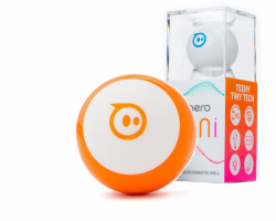 Sphero Mini - kulka robot sterowana smartfonem, tabletem Pomarańczowa