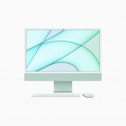 Apple iMac 24 4,5K Retina M1 8-core CPU + 7-core GPU / 8GB / 256GB SSD / Zielony (Green) 2021 - pczone