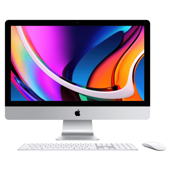 iMac 27 Retina 5K / i9 3,6GHz / 16GB / 512GB SSD / Radeon Pro 5700 8GB / Gigabit Ethernet / macOS / Silver (srebrny) MXWV2ZE/A/P1/G1/16GB - nowy model