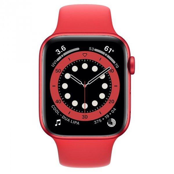 Apple Watch Series 6 44mm GPS + LTE (cellular) Aluminium z edycji PRODUCT(RED) z paskiem sportowym z edycji PRODUCT(RED)