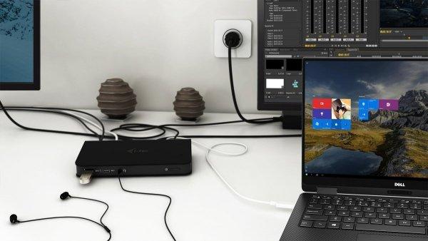i-tec USB-C Dual Display MST Stacja dokująca - HDMI/DP/Ethernet/USB 3.0/USB-C Power Delivery 60W
