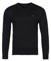 Tommy Hilfiger sweter męski czarny