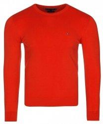 Tommy Hilfiger sweter męski czerwony c-nk