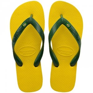 Klapki Havaianas Brasil japonki Citrus Yellow 4000032-2197