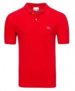 Lacoste koszulka polo polówka męska czerwona