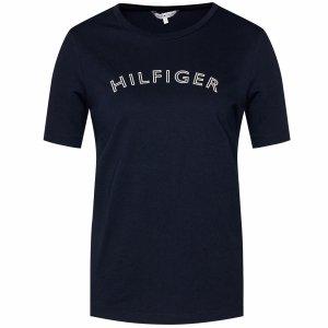 Tommy Hilfiger Jeans t-shirt koszulka damska bluzka granatowa