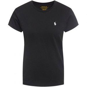 Polo Ralph Lauren t-shirt damski koszulka  slim fit czarna