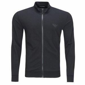 Emporio Armani bluza męska rozpinana czarna