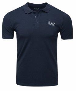 Emporio Armani koszulka polo polówka męska granatowa