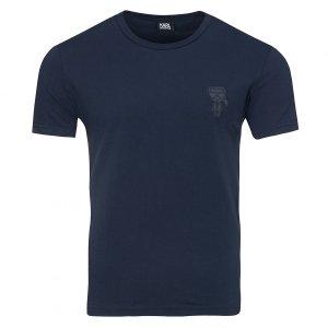 Karl Lagerfeld  t-shirt koszulka męska granatowa