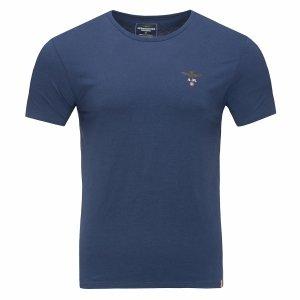 Aeronautica Militare t-shirt koszulka c-neck męska granatowa
