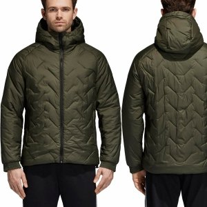 Adidas kurtka męska zimowa BTS Jacket Khaki CY9122