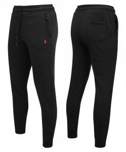 Ralph Lauren spodnie dresowe męskie czarne