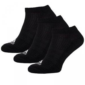 Adidas skarpety męskie stopki czarne 3pack/AH9874