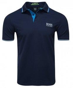 Hugo Boss koszulka polo polówka męska granatowa