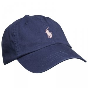 Ralph Lauren czapka z daszkiem unisex granatowa