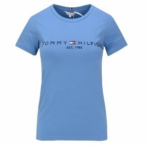Tommy Hilfiger t-shirt koszulka damska bluzka niebieska