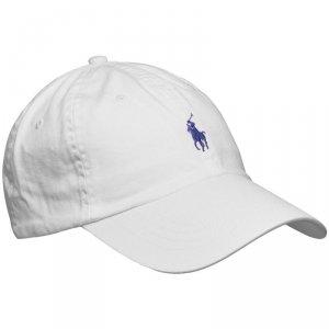 Ralph Lauren czapka z daszkiem unisex biała