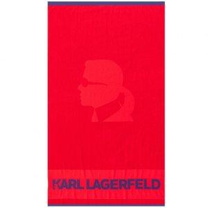 Karl Lagerfeld ręcznik czerwony