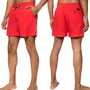 Tommy Hilfiger spodenki szorty męskie czerwone
