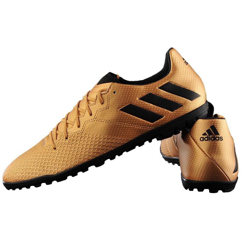 Buty piłkarskie korki Messi 16.3 FG Adidas (złote)