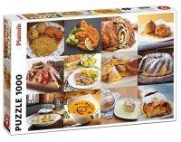 Puzzle Austriackie Jedzenie 1000el.