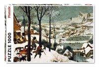 Puzzle Piatnik Bruegel, Myśliwi na Śniegu