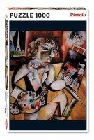 Puzzle Chagall, Autoportret