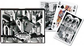 Karty Piatnik Escher, W górę i w dół