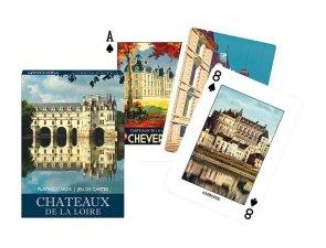 Karty Piatnik Chateaux de la Loire