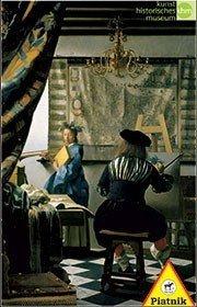Puzzle Vermeer, Alegoria malarstwa Piatnik
